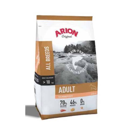 Arion Original Adult Grain Free Salmon&Potato Kutyatáp 12 Kg