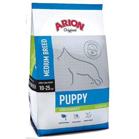 Arion Original Puppy Medium Chicken&Rice Kutyatáp 12 Kg