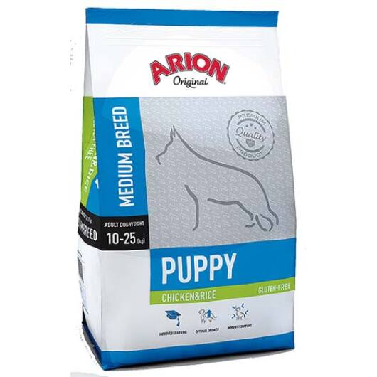 Arion Original Puppy Medium Chicken&Rice Kutyatáp 3 Kg