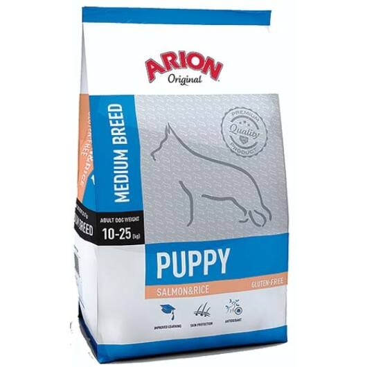 Arion Original Puppy Medium Salmon&Rice Kutyatáp 3 Kg
