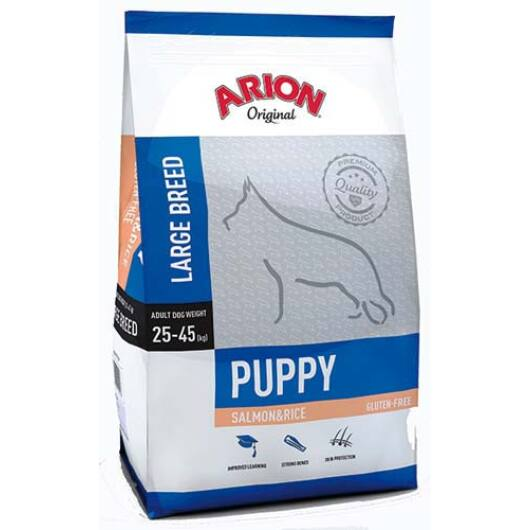 Arion Original Puppy Large Salmon&Rice Kutyatáp 12 Kg