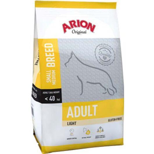 Arion Original Adult Small/Medium Light Kutyatáp 12 Kg