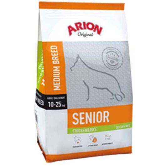 Arion Original Senior Medium Chicke&Rice Kutyatáp 12 Kg