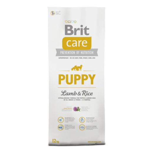 BRIT Care Hypo-allergenic Puppy All Breed Lamb&Rice 12 kg