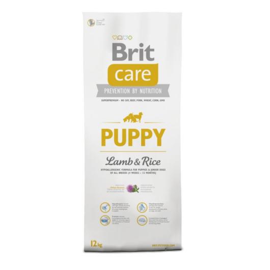 BRIT Care Hypo-allergenic Puppy All Breed Lamb&Rice 12