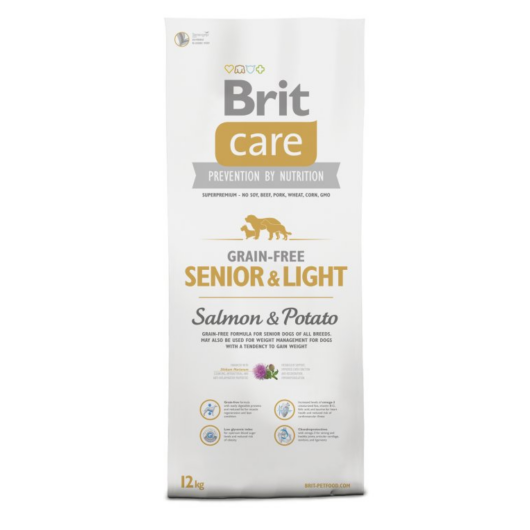 BRIT Care Grain Free Senior Salmon & Potato 12