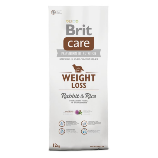 BRIT Care Weight Loss Rabbit&Rice 12