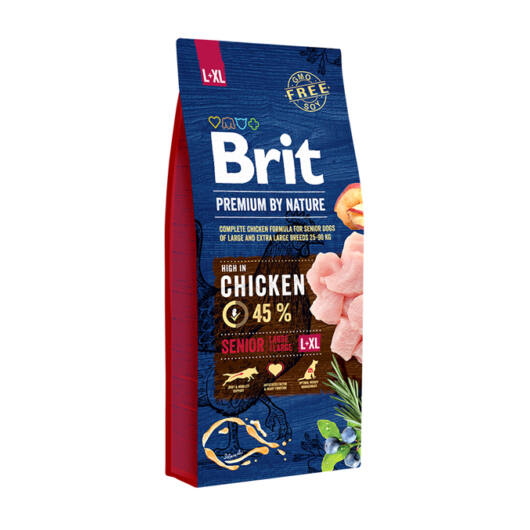 BRIT Premium by Nature Senior L/XL 15 kg
