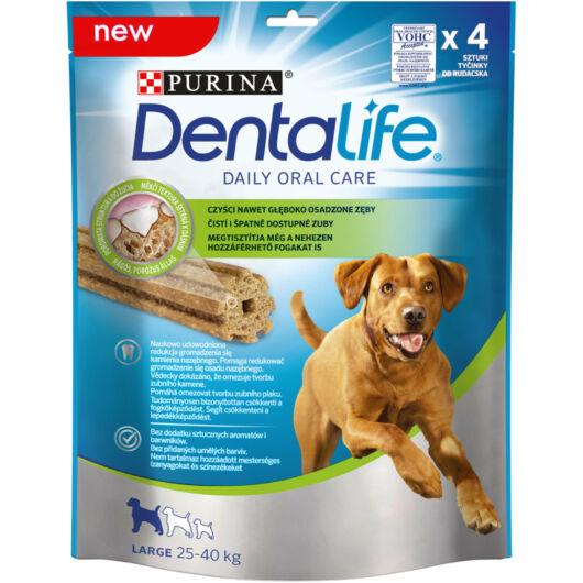 Purina Dentalife fogápoló stick L (25-40 kg) jutalomfalat 4 db 142g