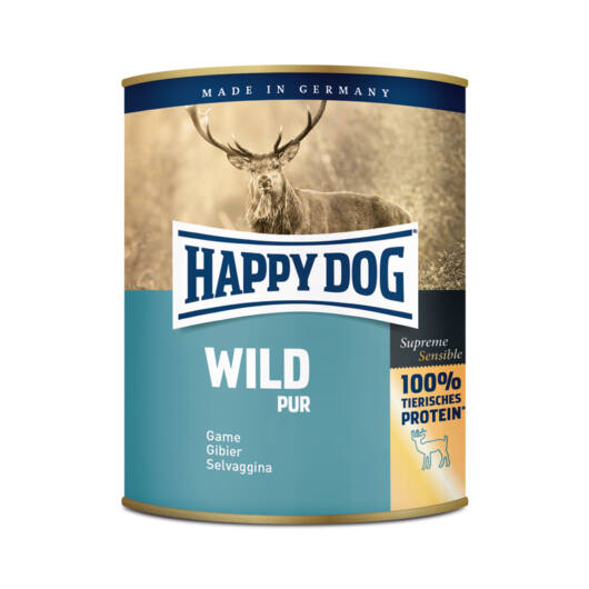Happy Dog Wild Pur vadhús 800 gr