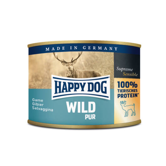 Happy Dog Wild Pur vadhús 200 gr