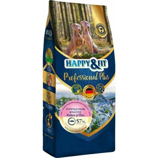 Happy&Fit Professional Plus Puppy&Junior Sensitive Salmon&Rice 18kg