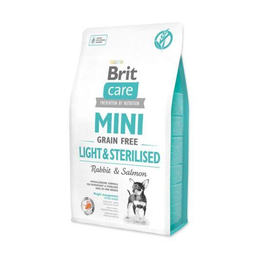Brit Care Mini Light&Sterilised Rabbit&Salmon  0,4