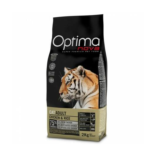 Visán Optimanova Cat Adult Chicken&Rice 0,4 kg