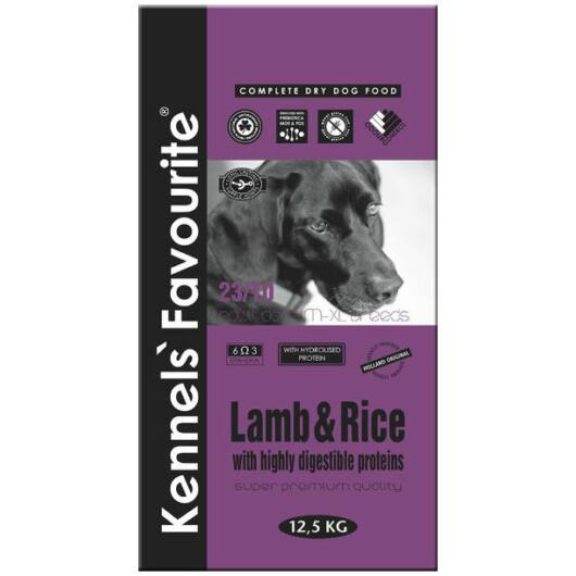 kennels favourite lamb rice