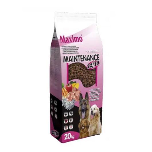Maximo kutyatáp maintenance