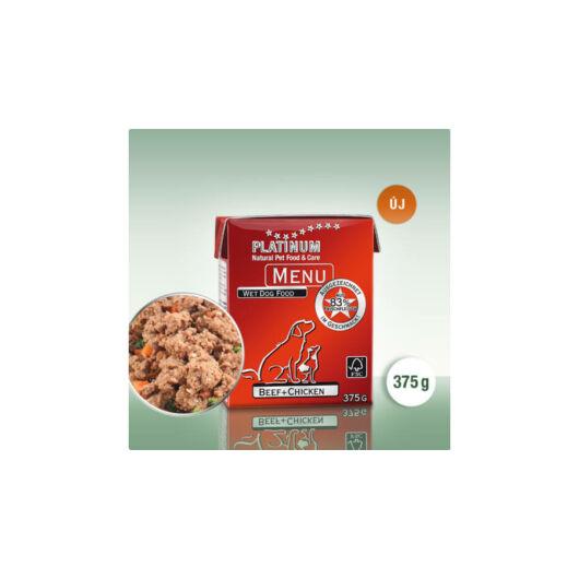 Platinum MENU Beef+Chicken/Marha+Csirke
