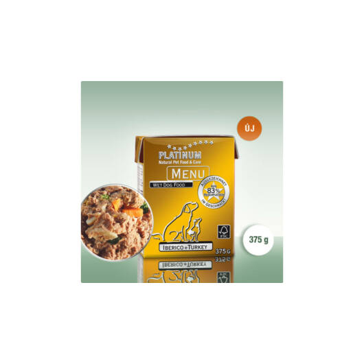 Platinum MENU Iberico + Turkey / Ibériai sertés + Pulyka