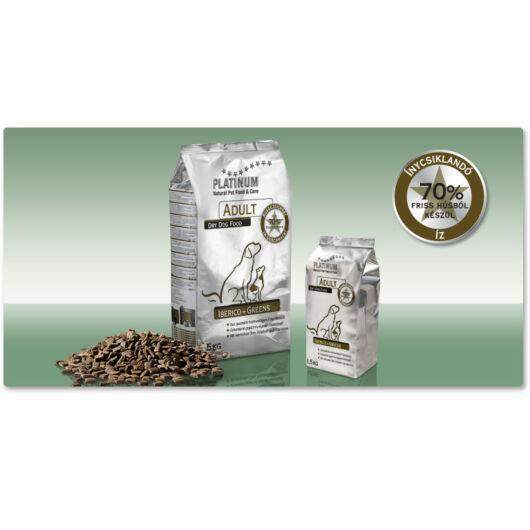 Platinum Adult Iberico+Greens / ibériai sertés, zöldségek