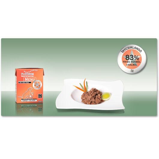 Platinum MENU Turkey+Salmon / Pulyka+Lazac