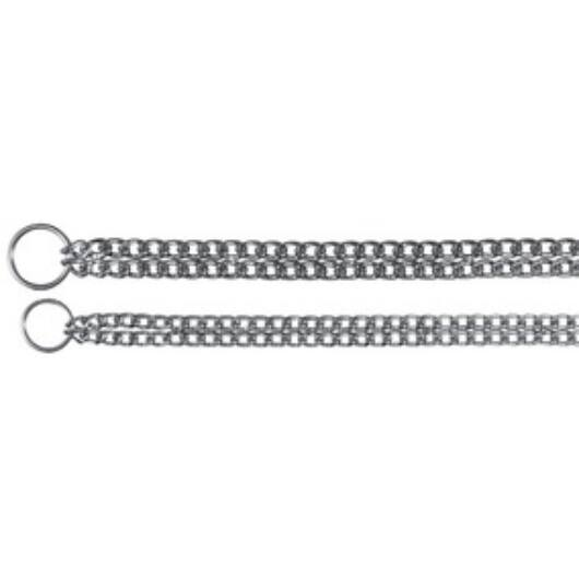 Fojtó fém 2 soros nyakörv