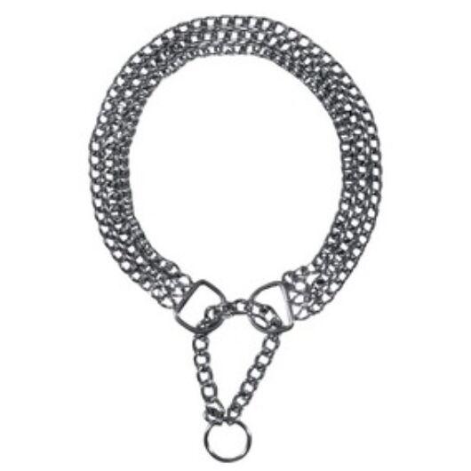 Fojtó fém 3 soros kombinált nyakörv