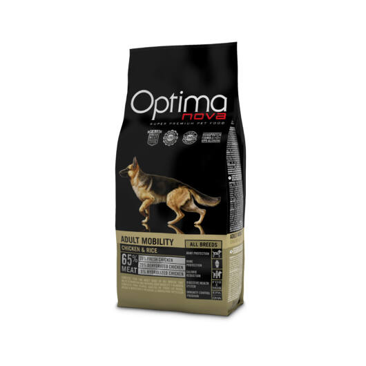 Visán Optimanova Dog Adult Mobility Chicken & Rice (27/14)